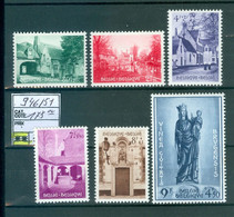946-951  Xx  Côte 175.00€ - Unused Stamps