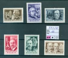 973-978  Xx  Côte 42.00€ - Unused Stamps