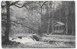 [ HAIN ]  Virelles    --   (  2  )  Cascade Et Fontaine Au Grand Parc - Chimay