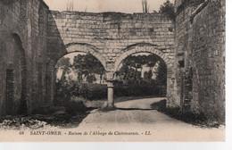 62 - CPA SAINT OMER - Ruines De L'Abbaye De Clairmarais - Saint Omer