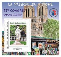 FFAP N° 17 De 2020 - Bloc Dentelé Autoadhésif - La Passion Du Timbre - Paris, Notre_Dame - FFAP