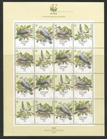 1991 Portugal (Madeira) WWF Madeira Laurel Pigeon Sheetlet (** / MNH / UMM) - Neufs
