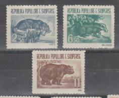 Albania  1961 **  Mnh  Yvert  549/51  Valor   45 € - Albanie