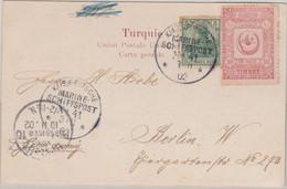 DR - MSP No. 41 SMS Stein AK Beyrouth - Berlin 3.11.1902 - Offices: Turkish Empire