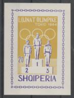 Albania  1964  **  Mnh  Yvert   Blo-  6M   Valor   35  €  Sindentar - Albanie