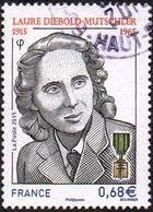 France Oblitération Cachet à Date N° 4985 - Laure Diebold Mutschler - Used Stamps