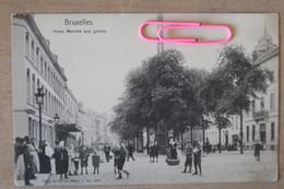BRUXELLES : Vieux Marché Aux Grains Avant 1906 - Markets