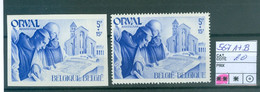 567A+B Xx Côte 20€ - Unused Stamps