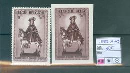 592A+592 B Xx Côte 45€ - Unused Stamps