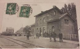Carte Postale Ancienne - CAESTRE LA GARE DP 59 - Bahnhöfe Ohne Züge
