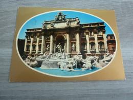 ROMA - LA FONTAINE DE TREVI - EDITIONS G.M - ANNEE 1977 - - Fontana Di Trevi