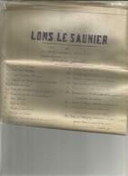 Plan De Lons Le Saunier Et Ses Fortications D 'apres Un Plan Dressé En 1715 Par Jouque Géometre - Historical Documents