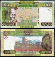 ♛ GUINEA - 500 Francs 2015 UNC P.47 - Guinea