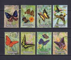 MALAYSIA 1970, Mi# 63-70, CV €50, Butterflies, MNH - Malaysia (1964-...)