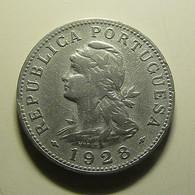 Portuguese S. Tomé E Príncipe 50 Centavos 1928 - Portugal