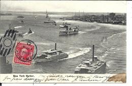 NEW YORK Harbor (1904 ?) - Trasporti