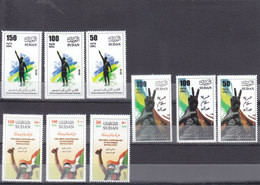 Stamps SUDAN 2019 1st ANNIV, DECEMBER REVOLUTION MNH 3rd SERIES SET MNH #3 - Soedan (1954-...)