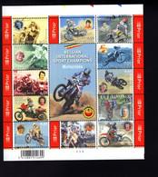 1115265866 OCB BL117 (XX) POSTFRIS MINT NEVER HINGED POSTFRISCH EINWANDFREI   INTERNATIONAAL SPORT CHAMPIONS MOTOCROSS - Blocks & Sheetlets 1962-....