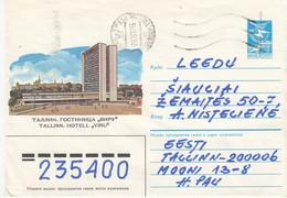 LITHUANIA Post Cover From Estonia To Siauliai 1990 #25700 - Litauen