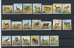 Angola MiNr. 368-87 Postfrisch MNH Wildtiere (W002 - Angola