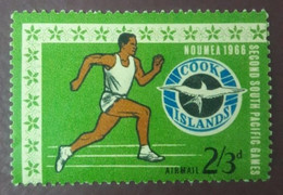 UN- USED STAMPS Cook-Islands - The 2nd Anniversary Of The South Pacific -1967 - Cook