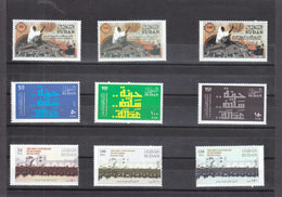 Stamps SUDAN 2019 1st ANNIV, DECEMBER REVOLUTION MNH 2ND SERIES SET MNH #5 - Soedan (1954-...)