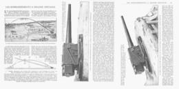 LES BOMBARDEMENTS à GRANDES DISTANCES ( GUERRE 14/18 )  1915 - Militaria
