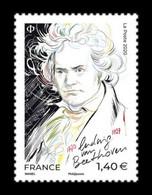 France 2020 Mih. 7756 Music. Composer Ludwig Van Beethoven MNH ** - France