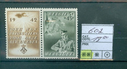 602 Xx Côte 18€ - Unused Stamps