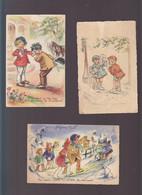 Germaine Bouret / Lot De 3 CP / Messe Noel, Madame La Marquise, Les Femmes C'est Couteux - Bouret, Germaine