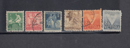 Cuba, Scott #RA1-RA6, Used, Children, Victory, Issued 1938-42 - Charity Issues