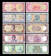 ♛ LIBERIA - 5+10+20+50+100 Dollars 2004-2011 UNC P.26e+27f+28b+29f+30g - Liberia
