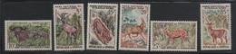 LOT 96 - SENEGAL N° 198/203  **  MAMMIFERES ; CERVIDES  - Cote 5.75 € - Senegal (1960-...)