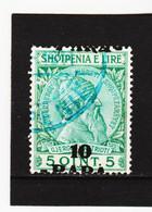 CAO360 A L B A N I E N  1914  Michl  42 AUFDRUCK VERSCHOBEN Gestempelt  SIEHE ABBILDUNG - Albanie