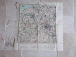 GUERRE 39/45..TYPE AVIATION..PARIS. - Cartes Géographiques