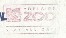 EMA METER STAMP FREISTEMPEL AUSTRALIA CANGURO KANGAROO ADELAIDE ZOO 1993 TIERPARK - Ohne Zuordnung