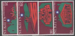 St.Kitts - #45-48(4) - MNH - St.Kitts Und Nevis ( 1983-...)
