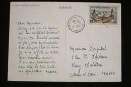 France SPM St Pierre Et Miquelon  CP Publicité Croisière AMORA 1963/4.(idem Ionyl Dear Doctor ) 2/8/63 - Alimentazione
