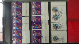 G216 Collection De Belles Oblitérations Rondes 1er Jour + Thématique FOOT-BALL Voir Commentaires. A Saisir !!! - Collections (en Albums)