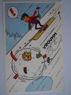 Stripfiguur Thomas Pips? Ski BD Personnage éditeur La Libre Belgique - Comicfiguren