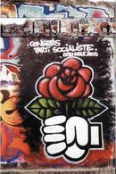 P.S. PARTI POLITIQUE ANNONCE CONGRES PARTI SOCIALISTE GRENOBLE ISÈRE 2000 ROSE ET LE POING - Politieke Partijen & Verkiezingen