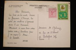 Belgique CP Publicité Croisiere AMORA  1972 .(idem Ionyl Dear Doctor ) - Alimentazione