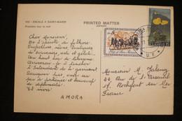 Saint Marin CP Publicité Croisiere AMORA  1969 .(idem Ionyl Dear Doctor ) - Alimentazione