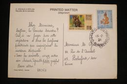 Ceylan CP Publicité Croisiere AMORA  1971 .(idem Ionyl Dear Doctor ) - Alimentazione