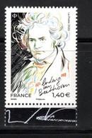 France 2020.Beethoven Issu De La Mini Feuille.** - France