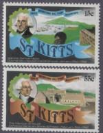 St.Kitts - #90-91(2) - MNH - St.Kitts Und Nevis ( 1983-...)