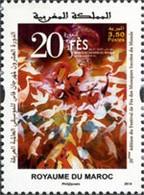 MAROC 20eme Festiv.Musiq.sacrées 1v Neuf ** MNH - Marokko (1956-...)