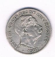 5 CENTIMES 1901 LUXEMBURG /8623/ - Lussemburgo