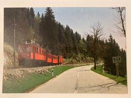 Train Rouge Nyon-St-Cergue- Morez - Trains