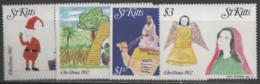 St.Kitts - #102-05(4) - MNH - St.Kitts Und Nevis ( 1983-...)